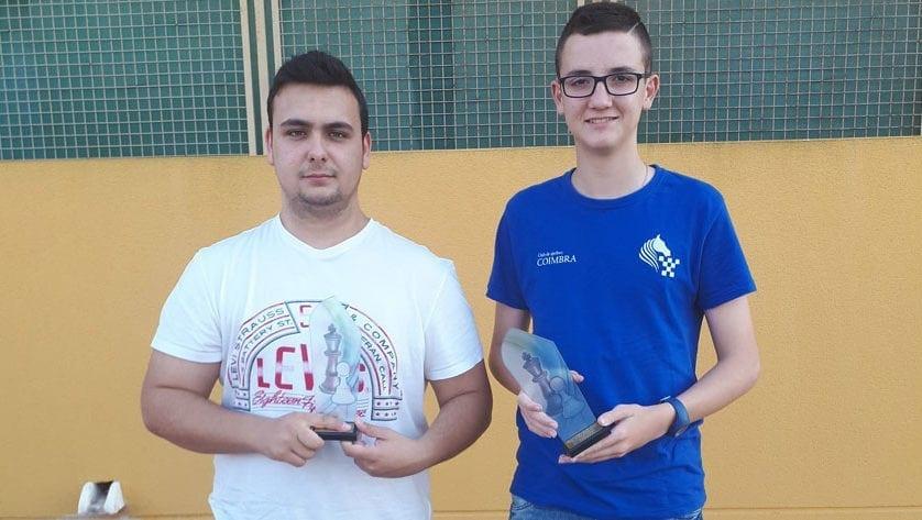 Nuevo podio para el Club de Ajedrez Coimbra en un Campeonato Regional