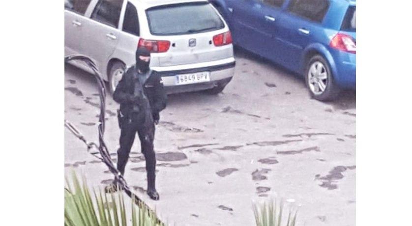 Las Fuerzas de Seguridad buscan a un fugado en la operación antidroga realizada en Jumilla