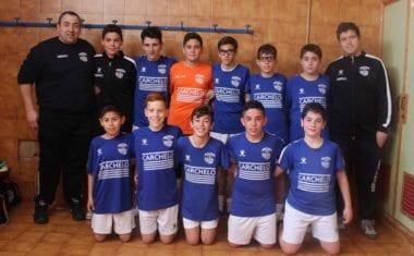 El equipo infantil de fútbol sala de la Escuela de Carchelo está a un paso de proclamarse campeón
