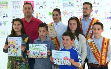 Luis Guillermo Martínez del Colegio Carmen Conde gana el Concurso del Cartel de la Cabalgata Infantil