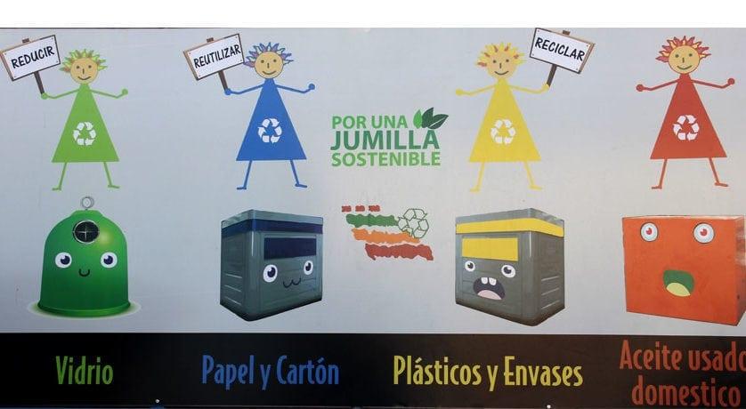Jumilla es el municipio de la Región donde más ha aumentado el reciclaje de papel y cartón