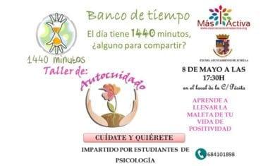 El Banco de Tiempo de Jumilla organiza un Taller de Autocuidado impartido por estudiantes de Psicología