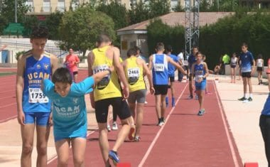 La última semifinal del Campeonato Regional al Aire Libre Sub-14 y Sub-16 se celebró en Jumilla