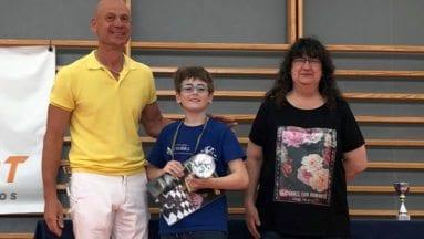Victoria de Carlos Molina en el sexto Torneo de Ajedrez Infantil de Alicante