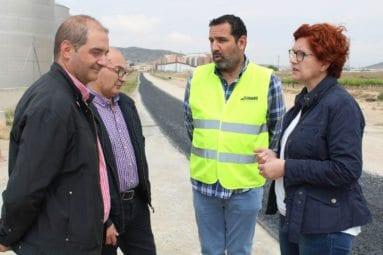 Visita oficial obras Camino Alicante