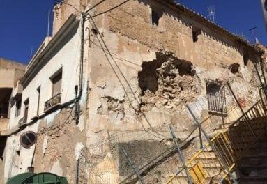 casa ruina calle miguel trigueros jumilla