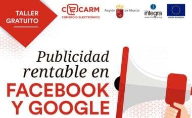 Taller del Cecarm sobre publicidad en Facebook y Google en Jumilla