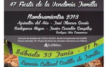 A la venta las entradas para el nombramiento de Agricultor y Bodeguero Mayor de las Fiestas de la Vendimia
