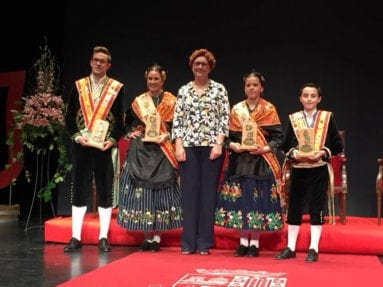 Alcaldesa Fiesta Vendimia Jumilla