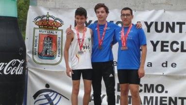Ángel Moreno tres medallas de bronce