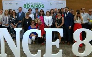 Jumilla acogió ayer la celebración del Día de la ONCE Región de Murcia