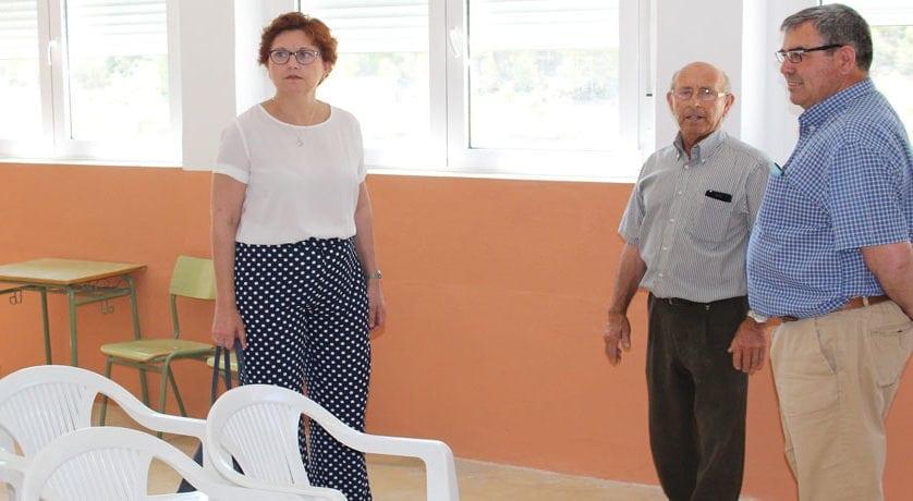 El antiguo colegio de La Zarza ha sido rehabilitado