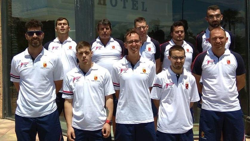 Ocho deportistas de Aspajunide participaron en el Campeonato de España de Selecciones Autonómicas