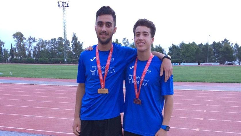 Cinco medallas para el Athletic Club Vinos DOP Jumilla en los Campeonatos Regionales Sub-16 y Sub-18