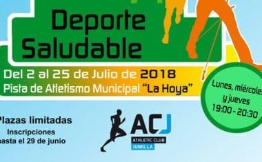 """En verano, """"Deporte Saludable"""""""