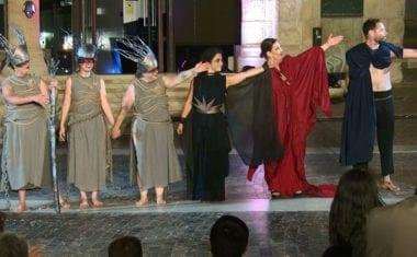 Impresionante representación de 'Electra. Cantes de la Ira'