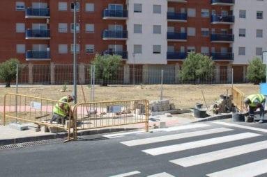 finalizando-obras-calle-goya-jumilla