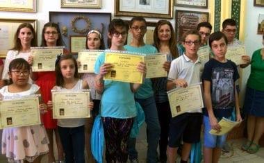 Entregados los premios de Dibujo y Poesía de 'Mi Patrona la Virgen de la Asunción'