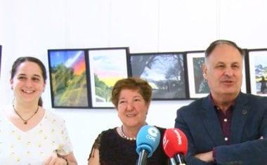 La sección de Etnografía del Museo Municipal acoge una exposición de pintura de Carmen Marcos