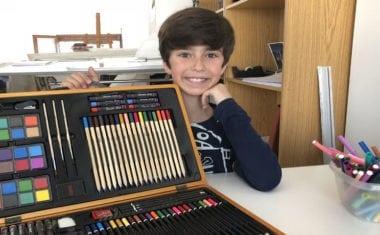 El jumillano Darío López Vicente gana el Concurso de Dibujo 'Tostarica'