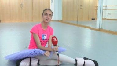 Lola Guardiola alumna de Vicente Ochoa