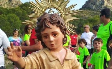 El Niño de las Uvas ya se encuentra en Jumilla