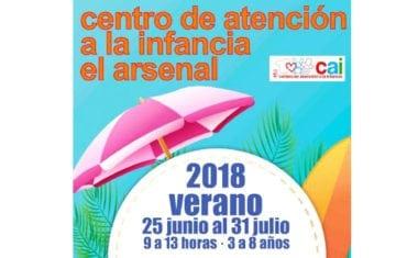 Ya está abierto el plazo de inscripciones para la Escuela de Verano del CAI El Arsenal