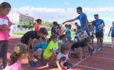 Torneo Local de Atletismo Base para cerrar el curso de la Escuela de Atletismo