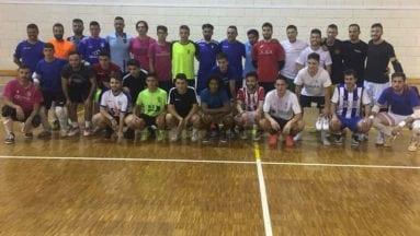Una treintena de jugadores probaron con el Jumilla Fútbol Sala