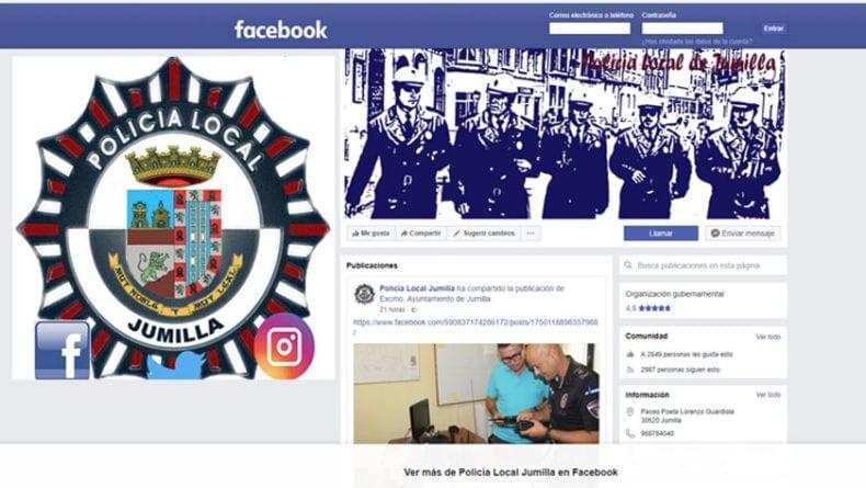 Página-de-Facebook-Policía-Local-de-Jumilla
