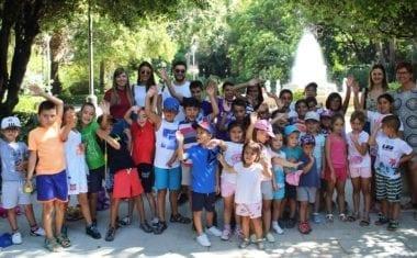 Más de 200 niños están participando en las ludotecas de verano de Política Social