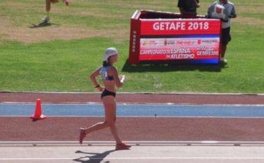 Ángela Carrión cerró su temporada 2017/2018 en el Campeonato de España Absoluto
