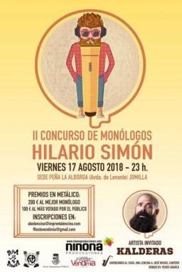 cartel-concurso-monólogos-hilario-simon