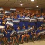 Con la entrega de regalos concluyó la séptima edición del Campus de Fútbol Ciudad de Jumilla