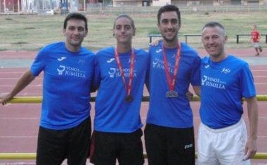 Cuatro medallas para el Athletic Club Vinos DOP Jumilla en el Regional Absoluto