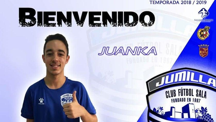 Juan Carlos Mondejar 'Juanka' renueva con el Club Jumilla Fútbol Sala