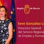 La jumillana Seve González asume la dirección general del SEF en sustitución de Alejandro Zamora