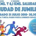 Los 10 Km y 6,1 Km saludables Ciudad de Jumilla se disputarán este fin de semana