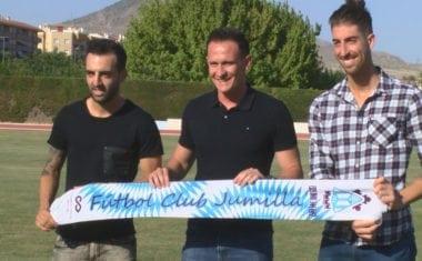 Mario Marín y Diego Sánchez aportarán experiencia a la plantilla del FC Jumilla