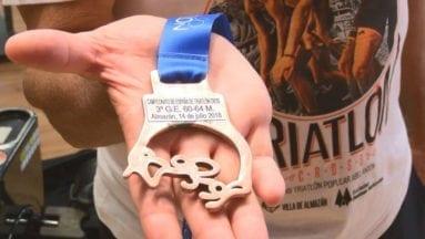 Medalla de bronce de Pepe Bernabéu en el nacional de triatlón cross