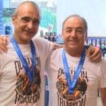 Campeonato de España de Duatlón Cross para Ángel Lencina y medalla de bronce para Pepe Bernabéu en triatlón