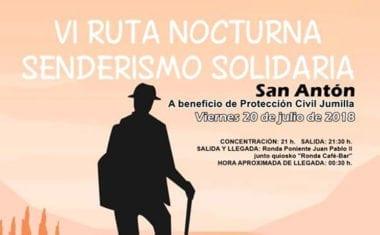 La Asociación de Vecinos San Antón celebra este viernes la sexta ruta nocturna solidaria