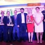 El presidente de la Comunidad presidió la entrega de premios Siete Días