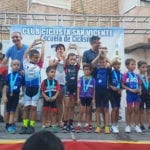Primer podio de la temporada para la Escuela de Ciclismo de Jumilla