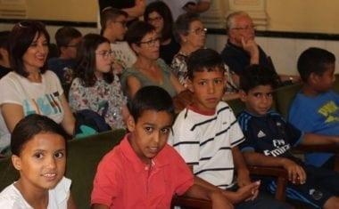 La Corporación Municipal recibe a los cinco niños saharauis acogidos este verano en Jumilla