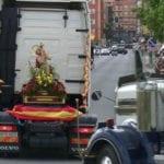 Los transportistas ya están preparados para celebrar a su patrón, San Cristóbal