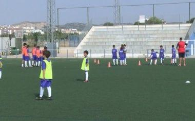 Medio centenar de niños han participado en el VII Campus de Fútbol Ciudad de Jumilla