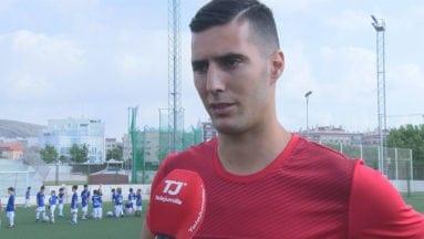 Sergi Guardiola jugador de Primera División del Getafe