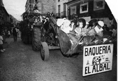 el-albal-cabalgata-vino-jumilla-años-setenta