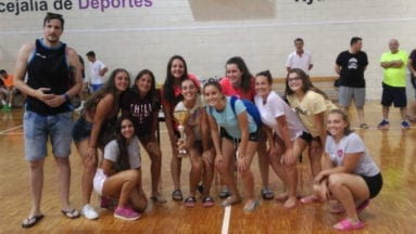 Equipo femenino infantil-cadete vencedor